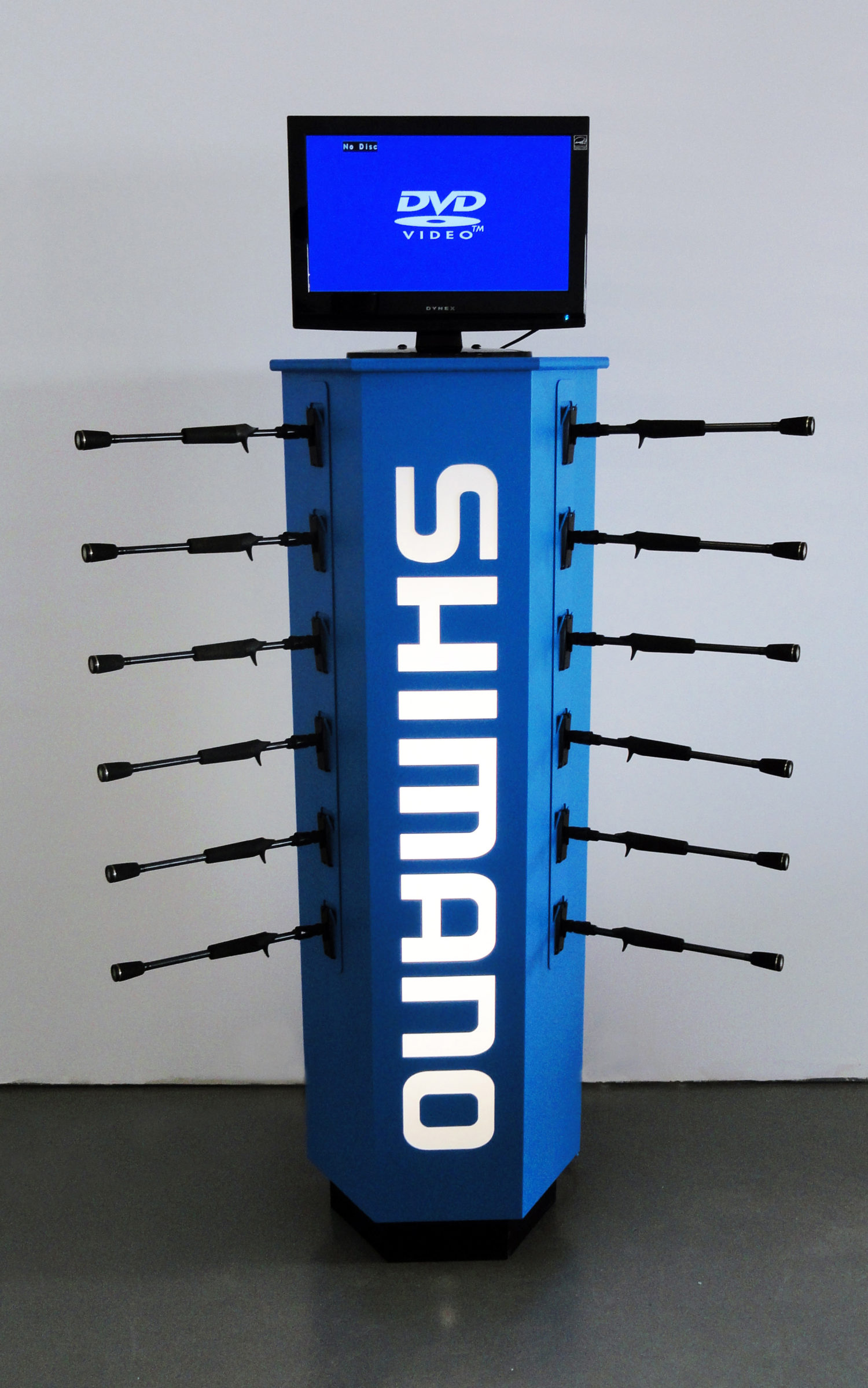 shimano hex reel display